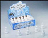 144 Units of White bell bubbles - Bubbles