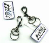 "288 Units of 2"" Metal clip keychain - Key Chains"