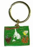 """36 Units of Heavy brass keychain, Wyoming state is approx. 1.75"""" in size - Key Chains"""