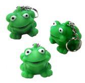 "144 Units of 2"" Rubber frog keychain, minimum - Key Chains"