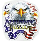 "96 Units of 5"" x 5.5"" magnet, Defending Freedom / eagle - Refrigerator Magnets"