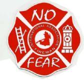 "96 Units of 5"" diameter magnet, No Fear / International Association Fireman - Refrigerator Magnets"