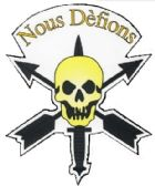96 Units of 6 1/4 magnet, Nous Defions(We Defy) - Special Forces - Refrigerator Magnets