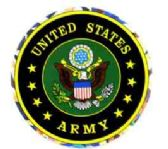 "96 Units of 3"" Round decal, United States Army - Stickers"