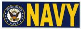 "48 Units of 3"" x 9"" decal, Navy - Stickers"