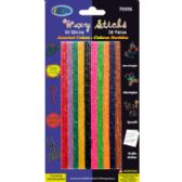 24 Units of WAX STICKS - 30 COUNT - CRAFT KITS