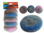 96 Units of Scourers 5pc 20gm Each 3asst - Scouring Pads & Sponges