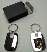 """36 Units of 2"""" Metal keychain with brass POW insignia, individually gift boxed - Key Chains"""