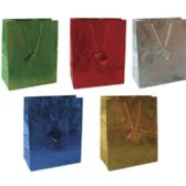 144 Units of Gift Bags - Hologram Designs - Small - Gift Bags Everyday