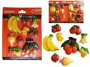 96 Units of 10PC Fruit & Veggie Magnets - Refrigerator Magnets
