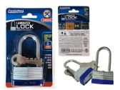96 Units of Laminated Lock, Long Shackle - Padlocks and Combination Locks