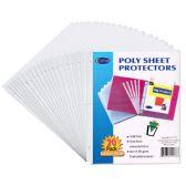 """72 Units of Sheet Protectors - 20 ct. - 9"""" x 11"""" - Sheet protector"""
