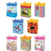 288 Units of Gift Bags- Juvenile designs- Medium Size - Gift Bags Assorted