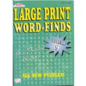 48 Units of Large Print Word Find - full size book - Crosswords, Dictionaries, Puzzle books