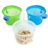 36 Units of Clothespin Basket - Clothes Pins