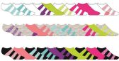 600 Units of Womans Fashion Printed Low Cut Ankle Socks Size 9-11 - Womens Ankle Sock