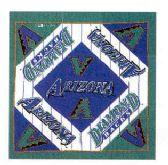 "24 Units of Arizona Diamondbacks bandana, 20"" x 20"" - Bandanas"