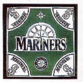 "24 Units of Seattle Mariners bandana, 20"" x 20"" - Bandanas"