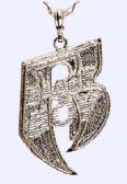 "60 Units of 22"" Heavy silver metal ""Black Boy"" necklace - Necklace"