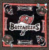 """24 Units of Tampa Bay Buccaneers bandana, 20"""" x 20 - Bandanas"""