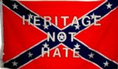 """12 Units of 3' x 5' polyester Rebel Flag, """"Heritage Not Hate"""". with grommets - Flags"""