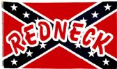"""12 Units of 3' x 5' polyester Rebel flag """"Redneck"""". with grommets - Flags"""