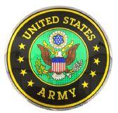 "12 Units of 12"" Round decal, United States Army - Novelties"
