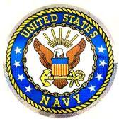 """12 Units of 2"""" Round decal, United States Navy - Novelties"""