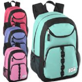 "24 Units of Urban Sport 18 Inch U Pocket Backpack - Girl Colors - Backpacks 18"" or Larger"