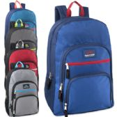 "24 Units of Trailmaker Cargo Pockets 19 Inch Backpack With Padding - Backpacks 18"" or Larger"