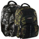 "24 Units of Trailmaker 18 Inch Camo Daisy Chain Backpack - Backpacks 18"" or Larger"