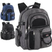 "24 Units of Trailmaker Complete Backpack With 11 Different Pockets - Backpacks 18"" or Larger"