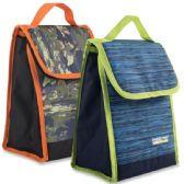 24 Units of Boys Insulated Lunch Sack - Lunch Bags & Accessories
