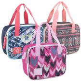 24 Units of Fridge Pack Two Tone Lunch Bags - Girls - Lunch Bags & Accessories