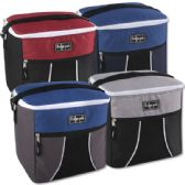 24 Units of Fridge Pak 24 Can Cooler Bag - 4 Colors - Cooler & Lunch Bags