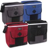 24 Units of Fridge Pak 30 Can Cooler Bag - 4 Colors - Cooler & Lunch Bags