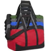 24 Units of 17 Inch Duffel Bag Assorted Colors - Duffle Bags