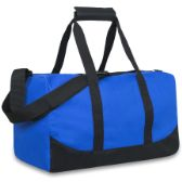 24 Units of 17 Inch Duffel Bag Blue Color Only - Duffle Bags