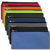 96 Units of Pencil Pouches-8 Color Assortment - Pencil Boxes & Pouches