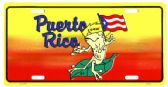 "24 Units of 6"" x 12"" Metal license plate, ""Puerto Rico - coqui"" - Auto Accessories"