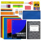12 Units of 24 Piece School Supply Kit - School Supply Kits