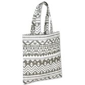 100 Units of 10 Inch Printed Non Woven Tote Bag - Tribal Print - Tote Bags & Slings