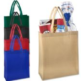 100 Units of 15 Inch Grocery Tote Bag - Assorted Colors - Tote Bags & Slings