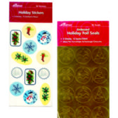48 Units of Christmas Gift Stickers - 36 pack - Stickers