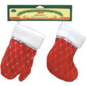 72 Units of Christmas Stocking and Mit - Christmas Sock