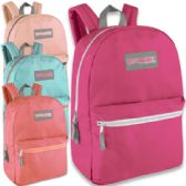 24 Units of Trailmaker Classic 17 Inch Backpack - In 4 Colors Girl Colors - Backpacks 17""