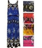 48 Units of Lady's fake 2 Pieces Summer Dress/color size assorted - Womens Sundresses & Fashion