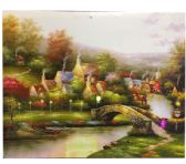 12 Units of The Path Canvas Picture - Wall Decor