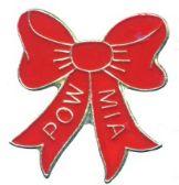 96 Units of Brass hat pin, POW-MIA red ribbon - Hat Pins / Jacket Pins
