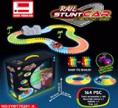 24 Units of GLOW IN THE DARK RACETRACK LARGE - Light Up Toys